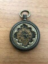FIDELITAS CYLINDRE 10 RUBIS orologio da tasca d'epoca-old pocket watch