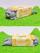 Z95 Kitan Club Capsule Scottish Fold neko Cat tissues model BRAND FREE SHIPPING