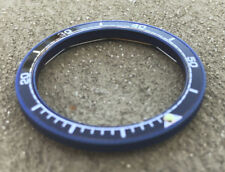 BLUE PVD 60 MIN  MATTE Bezel for Vostok Amphibian Komandirskie Watch X20BPVDBLU