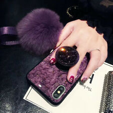 Luxury Bling Glitter Silicone Case Cover for iPhone XS Max 7 8 Plus Phone Holder