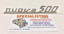 FIAT 500 D-F-L-R SCRITTA NUOVA 500  COFANO MOTORE  COME ORIGINALE