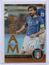 ANDREA PIRLO Italy 2015/16 Select Soccer Ultimate Team Orange Prizm /149 SP