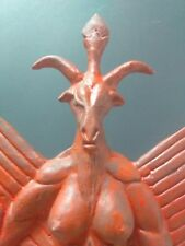 "Baphomet Dark god Devil Statue,13""x8"",Occult,satanism"