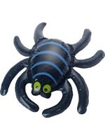 Inflatable Spider Black 44x34cm Prop Decoration Halloween House Party Accessory