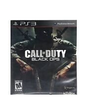 Call of Duty: Black Ops (Sony PlayStation 3 2010) Complete w/Manual Tested Works