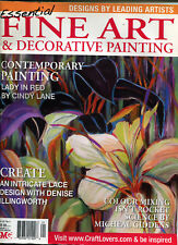 ART MAGAZINE - FINE ART & DECORATIVE PAINTING MAGAZINE VOL 18 NO 1