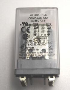 100 PCS 12V DPDT Relay Magnecraft  788XBXC-12D  A283XBXC-12D  New Old Stock