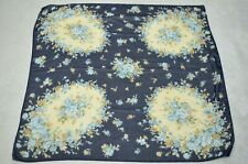 LAURA ASHLEY Vintage ditsy floral print square scarf