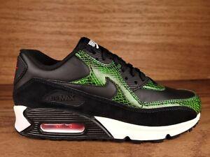 NEW Nike Air Max 90 QS Green Python Shoes CD0916-001 Men Size 6.5 Women Sz 8