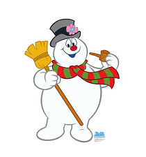 Frosty The Snowman Christmas Cardboard Cutout Standup Standee Holiday Display