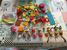 Moshi Monsters Toy Figure Bundle Gold & Others Plus Mega Blocks/Lego Parts