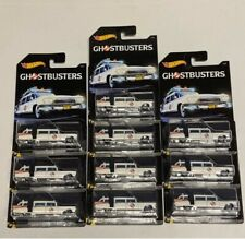 Lot 10 Hot Wheels Ghostbuster Ecto-1 New!