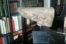 élément  d'architecture bois polychrome  HTE EPOQUE   ange  OBJET DE CURIOSITE