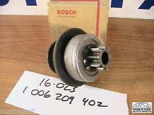 Mercedes Benz Starter Drive Bendix BOSCH  1-006-209-402   16-023  many 1970-1974