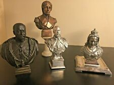 Silver Bronze Copper Nelson Queen Victoria King Edward VII K. George V Bust Lot