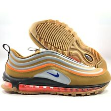 Nike Air Max 97 Utility Sepia Stone Brown Blue Orange BQ5615-200 Men's 11-13