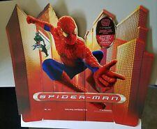 Spiderman DVD Release Cardboard Display Promotional Topper Standee