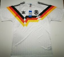 West Germany  Home 1990 World Cup Retro Shirt Classic Vintage Adult Sizes