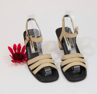 Andre' Aous Leather Featherweights Strappy Sandals US 8.5 #C017