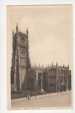 Cirencester Church From SW Vintage Postcard 799a