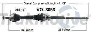 For Volvo XC90 2005-11 4.4L Front Passenger Right CV Axle Shaft SurTrack VO-8053