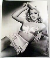 DIANA DORS - 8x10 Glossy, B&W Glamour Film Print