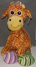 Fiesta SILLY SOCK GIRAFFE Over Three Feet Tall Plush Stuffed Animal