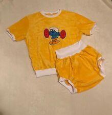 😇 Adult Nicky Set Shirt & Windelhose  Gr. M/L gelb