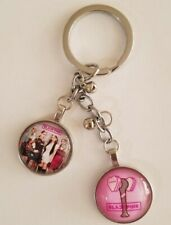 Metal Keychain Fashion Key Ring Charm Kpop Black Pink  All Member Toghether
