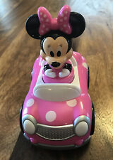 New listing Disney Minnie Mouse Push and Go Racer Car Toddler PreSchool Activity Toy & Games