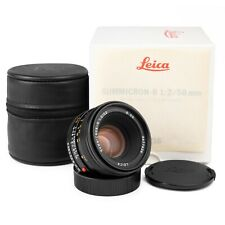 "Leica 50mm f2 Summicron-R Late (1990s) ""Made in Germany"" Lens in Box"