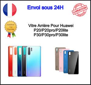 Vitre Arrière Cache Batterie Huawei P30 Lite P20 P20 Pro Lite P30 P30pro Adhésif