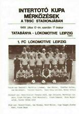 IFC 1989 Banyasz Tatabanya - Lok Leipzig / IFK Göteborg / Lyngby BK, Intertoto