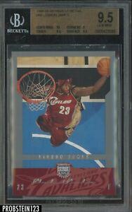 2004-05 Skybox LE Retail #19 LeBron James Cleveland Cavaliers BGS 9.5