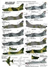 Xtra Decals 1/72 VOUGHT A-7L CORSAIR TWOSAIR Two-Seaters International Service