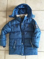TCM Tchibo Blaue warme Winterjacke Jacke 122 128