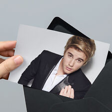 Justin Bieber Photo - 6x4 inch - Un-signed - with Unsealed Gift Envelope