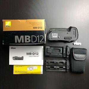 Nikon MB-D12 - USA Model Genuine - Battery Grip for D810 D800 D800E Multi-Power