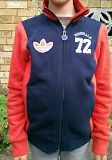 New children Navy/Red ADIDAS jacket/ tracksuit top size 4-5 years