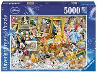 RAVENSBURGER 17432 Disney Mickey Maus als Künstler 5000 Teile DISNEY PUZZLE