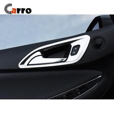 Matte Interior Door Handle Cover Plastic Plated 4 PCS Fits Chevrolet Cruze 17-18
