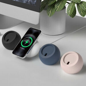 For iPhone 13 Magsafe Wireless Magnetic Charger Round Dock Charging Stand Holder