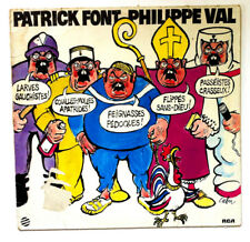 PATRICK FONT PHILIPPE VAL Baader Disque LP VINYL 33 T NL 70375 France 1978