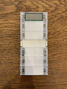 GIRA KNX Tastsensor 2 5-fach mit Raumtemperaturregler 115500 + KNX-Busankoppler