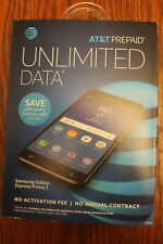 "NEW AT&T Samsung Galaxy Express Prime 3 Smartphone - Cell Phone Mobile 5"" Screen"