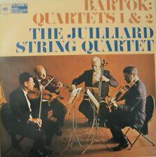 THE JUILLIARD STRING QUARTET - BARTOK: QUARTETS 1 & 2  - LP