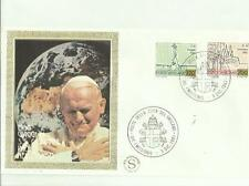 133958 BUSTA PRIMO GIORNO FDC CON SETA PAPA GIOVANNI PAOLO SECONDO 1981