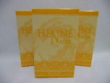 Henné Blond Teinture pour Cheveux Naturel Soin de - 3 x 90 G - Poule