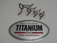 1pc Fuji T-LCSG LC SIC Low Rider Titanium Guide Fishing Rod Building Choose Size