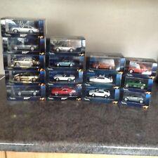 Large collection minichamps James Bond 007 cars